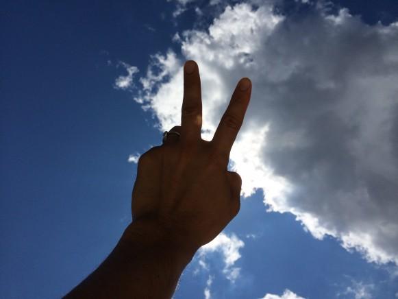 横手貞一朗 Peace
