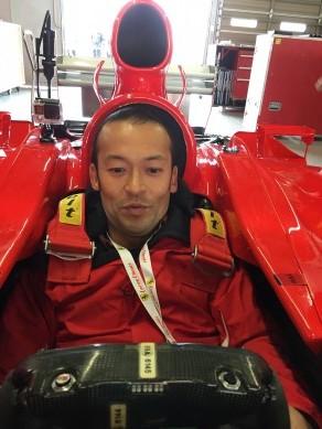 横手貞一朗 レーサー トレーニング  2016 Ferrli Day F1