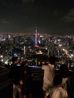 六本木ヒルズ 展望台 スカイデッキ